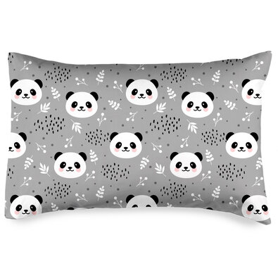 4Home Nordic Panda párnahuzat, 50 x 70 cm