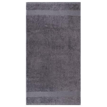 Osuška Olivia šedá, 70 x 140 cm
