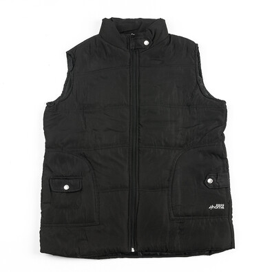 Prošívaná vesta L černá