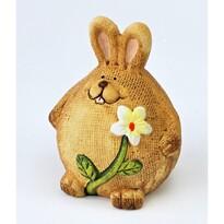 Wielkanocny zajączek ceramiczny Bobby, 11,5 cm