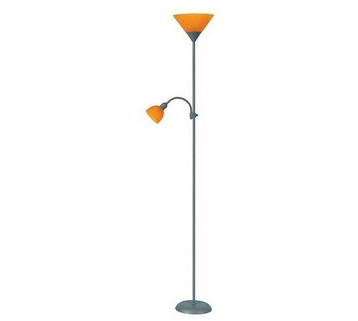 Stojacia lampa  Rabalux Action 4026 strieborná / o, oranžová, pr. 25 x 178 cm