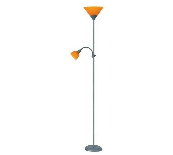 Lampă de podea Rabalux 4026 Action, portocaliu