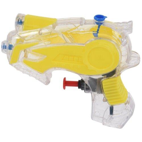 Vodná pištoľ žltá, 13 cm