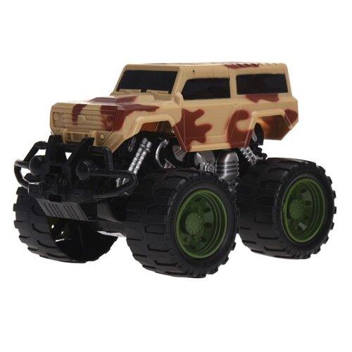 Monster truck hnědá, 16 cm