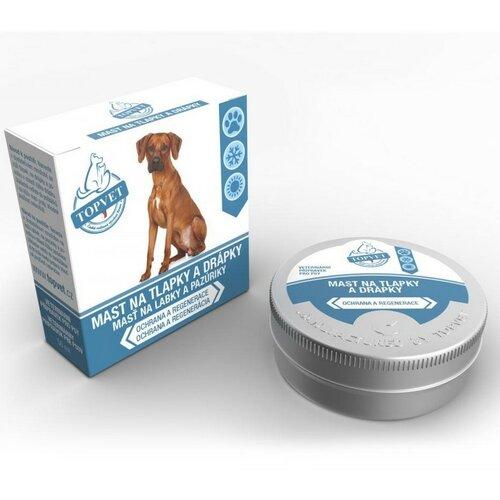 Topvet Mast na tlapky a drápky pro psy, 50 ml