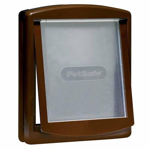 PetSafe Dvierka Staywell 755 hnedá, veľkosť M