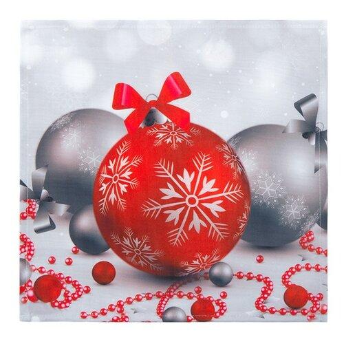 Vianočný obrus Vianočné ozdoby, 35 x 35 cm