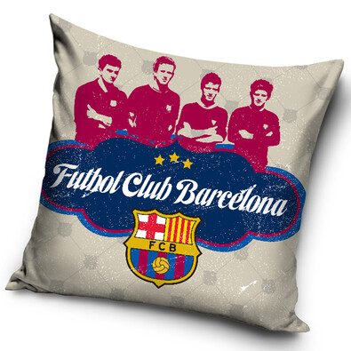 Polštářek FC Barcelona Futbol Club, 40 x 40 cm