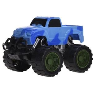 Monster truck modrá, 16 cm