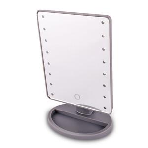 Kosmetické zrcadlo Lumiére, šedá
