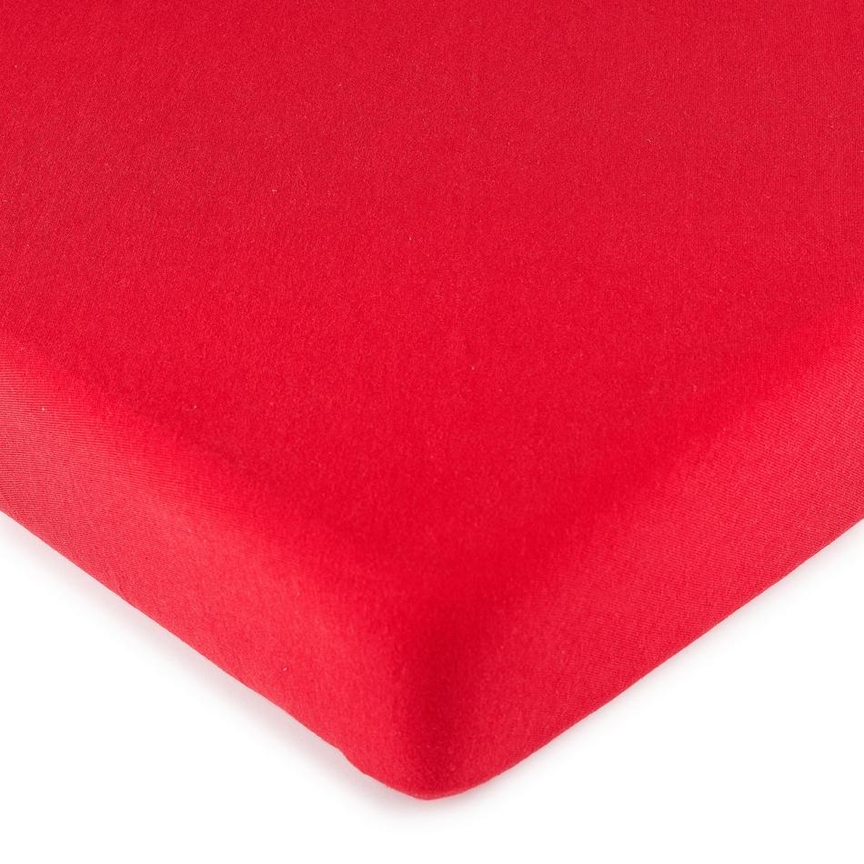 Cearşaf 4Home jersey, roşu, 160 x 200 cm imagine 2021 e4home.ro