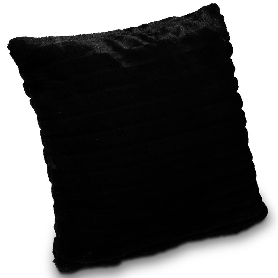 Albani Obliečka na vankúšik Berlin čierna, 50 x 50 cm,