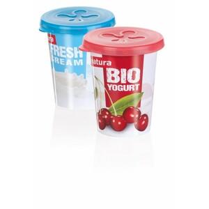 escoma PRESTO víčka na jogurty 7 cm, 2 ks
