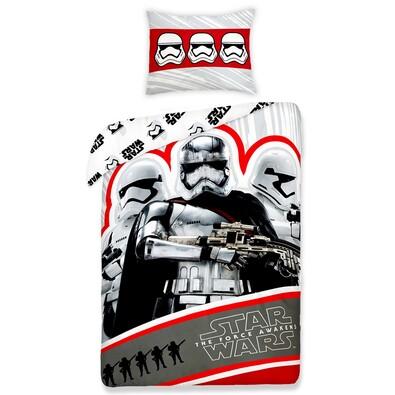 Dětské bavlněné povlečení Star Wars Flametrooper, 140 x 200 cm, 70 x 90 cm