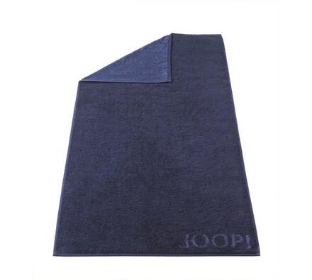 JOOP! ručník Doubleface modrý, 50 x 100 cm