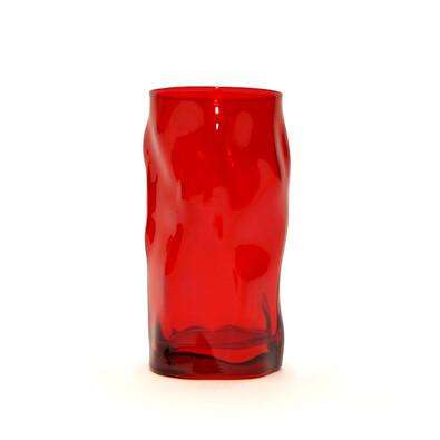 Florina Sorgente sklenice 460 ml, červená