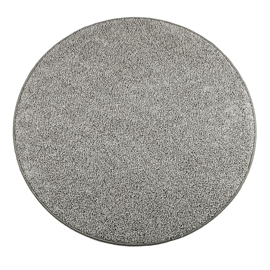 Vopi Kusový guľatý koberec Elite Shaggy šedá