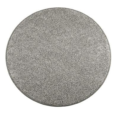 Kusový koberec Elite Shaggy šedá, průměr 120 cm