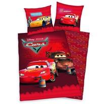 Lenjerie de pat copii, din bumbac, Cars Relax, 140 x 200 cm, 70 x 90 cm