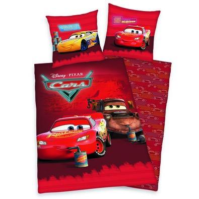 Dětské bavlněné povlečení Cars Relax, 140 x 200 cm, 70 x 90 cm