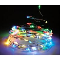 Svetelný drôt farebná, 80 LED