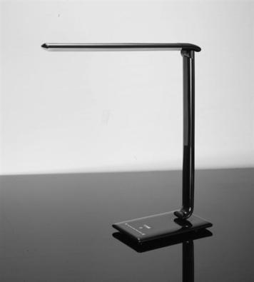 Solight Stolní lampička stmívatelná, černá