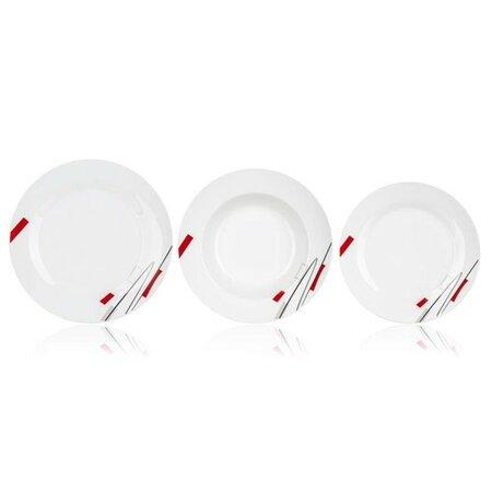 Banquet 18dílná jídelní sada Geometric
