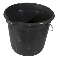 Vedro okrúhle 12 litrov, sivá
