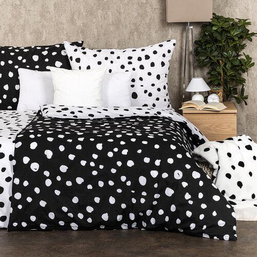 4Home Bavlněné povlečení Dalmatin černobílá, 160 x 200 cm, 70 x 80 cm