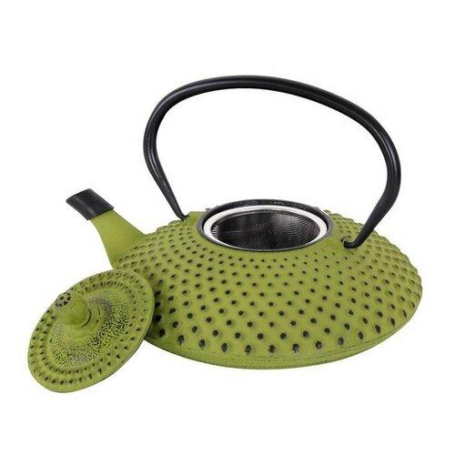 Toro Litinová čajová konvice 1,25 l, zelená