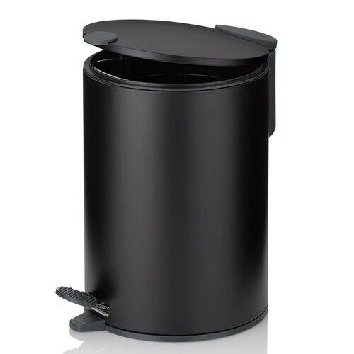 Kela Kozmetický odpadkový kôš MATS 3 l, čierna
