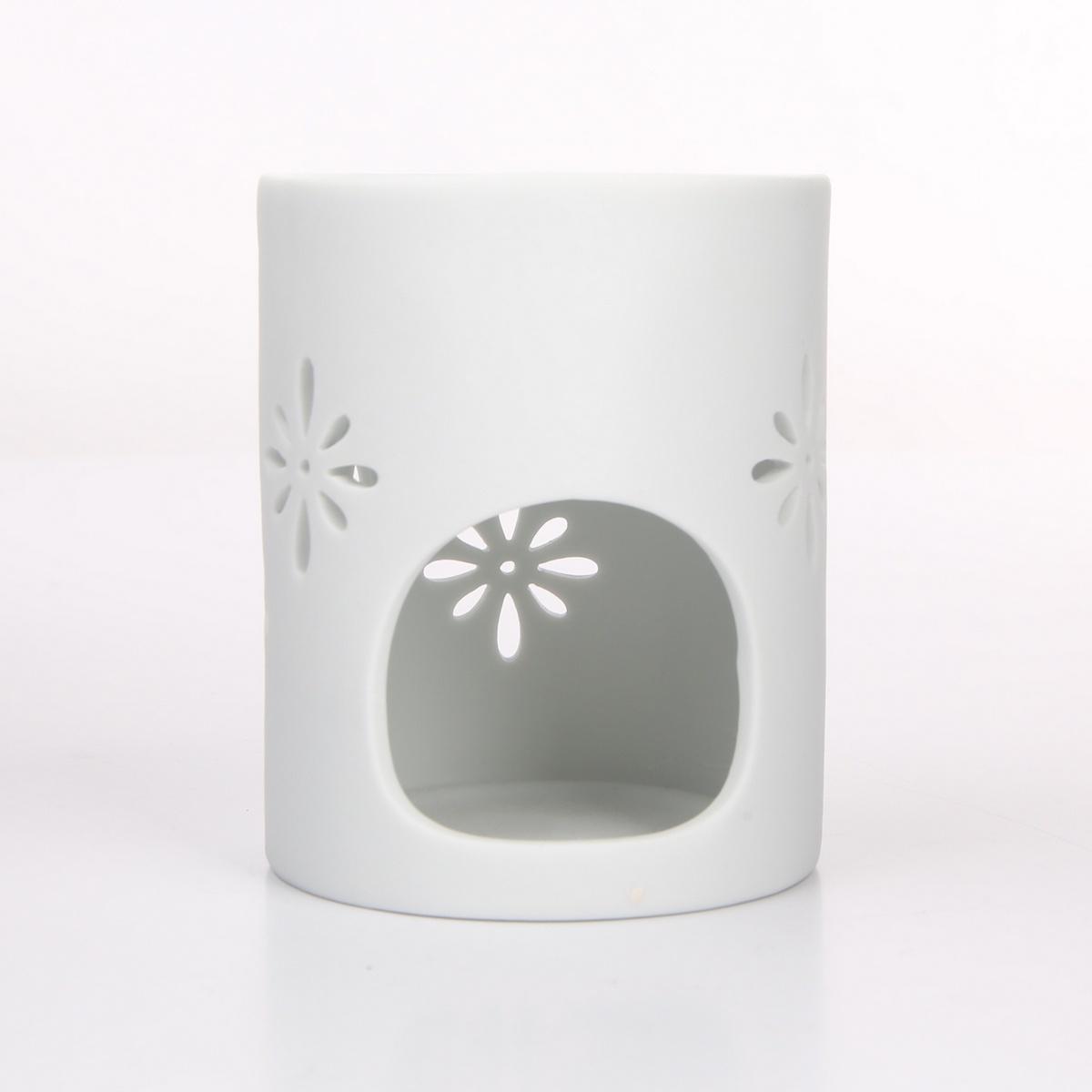 Altom Porcelánová aromalampa Abi 8 x 10 cm, bílá