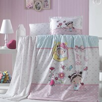 Detské bavlnené obliečky do postieľky Bellini, 100 x 135 cm, 40 x 60 cm