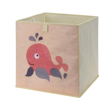 Úložný box na hračky 32 x 32 x 30 cm, veľryba