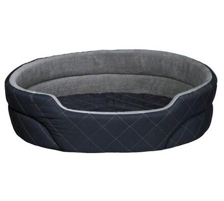 Prešívaný pelech Trixie FRANJO 55x45cm - tmavo mod