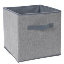 Koopman Úložný box 30 x 30 x 30 cm, šedá
