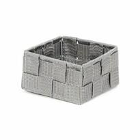 Compactor Úložný organizér do zásuvky S TEX, 12 x 12 x 7 cm, šedá