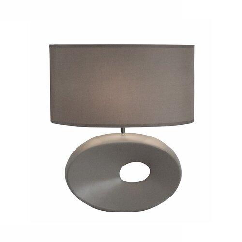Tempo Kondela Keramická stolní lampa Qenny 11, šedá