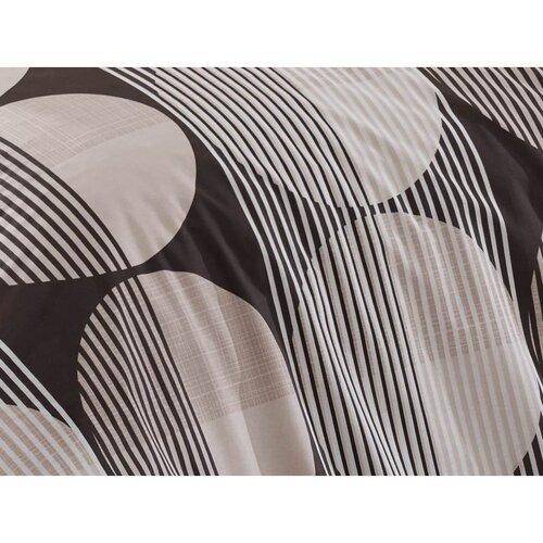Zara pamut ágyneműhuzat barna, 220 x 200 cm, 2 db 70 x 90 cm
