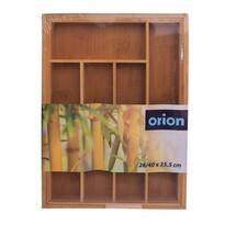 Organizator tacâmuri pliabil Orion din bambus