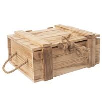 Lădiță cadou Orion, din lemn, 36 x 26 x 16 cm