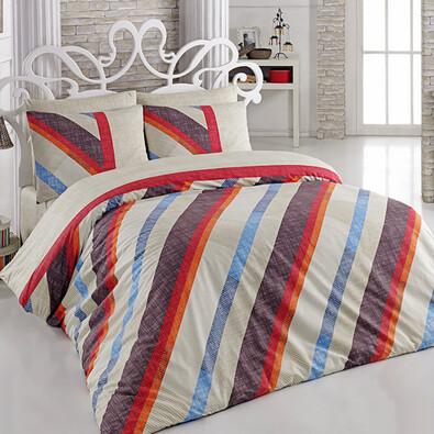Bavlněné povlečení Diagonal, 140 x 220 cm, 70 x 90 cm