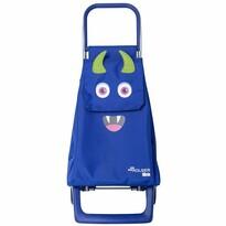 Rolser Detská nákupná taška na kolieskach Monster MF Joy-1700, modrá