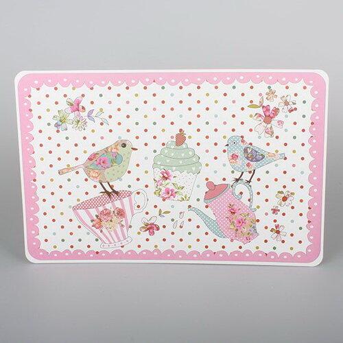 Poza Napron Pasarele, roz, 43 x 28 cm