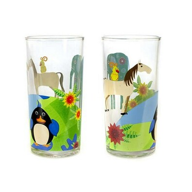 Banquet sklenice se zvířatky 6 ks
