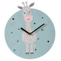 Koopman Nástenné hodiny Žirafa, pr. 28 cm