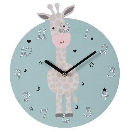 Ceas de perete Koopman, Girafă, diam. 28 cm