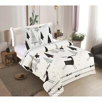Lenjerie de pat din micro-pluș Rudolf, 140 x 200 cm, 70 x 90 cm