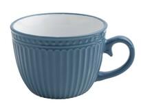 Florina Kubek ceramiczny Jumbo Doric 450 ml, niebiesky