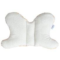 Dětský polštář Motýlek Puntíky, 42 x 26 cm